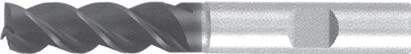 Концевая фреза 3 - зубая для обработки стали и универсального приминения без подвода СОЖ d20 h150 z3 - Сверхдлинная серия - хвостовик Weldon MPSA.01WXL.Z03.020 MPSA заточка и изготовление