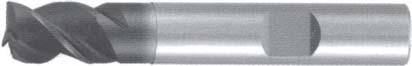 Концевая фреза 3 - зубая для обработки алюминия без подвода СОЖ d3 h4 z3 - Короткая серия - хвостовик цилиндр MPSA.01CKAL.Z03.003 MPSA заточка и изготовление