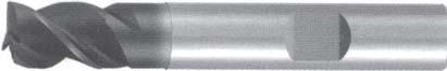 Концевая фреза 3 - зубая для обработки алюминия без подвода СОЖ d12 h12 z3 - Короткая серия - хвостовик Weldon MPSA.01WKAL.Z03.012 MPSA заточка и изготовление