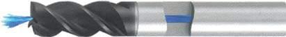 Концевая фреза 3 - зубая для обработки чугунов и закаленных сталей до 55 HRC с центральным подводом СОЖ d8 h16 z3 - Длинная серия - хвостовик цилиндр MPSA.01CLCI.Z03.008CC MPSA заточка и изготовление