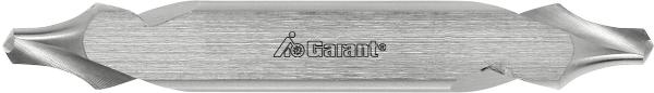 Центровочное сверло HSS-E R с лыской 6,3 мм 111450 GARANT заточка и изготовление