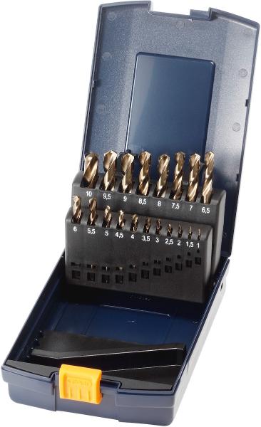 Набор коротких свёрл HSS-E113001  в кейсе 1-10 113010 GARANT заточка и изготовление